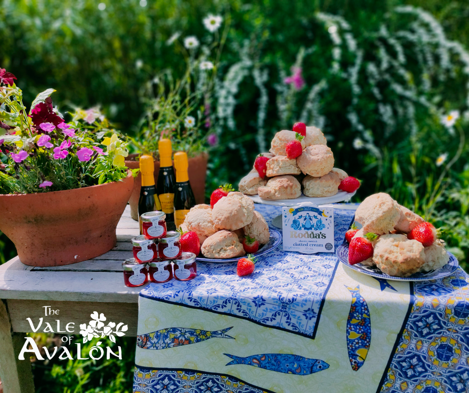 Avalon cream tea